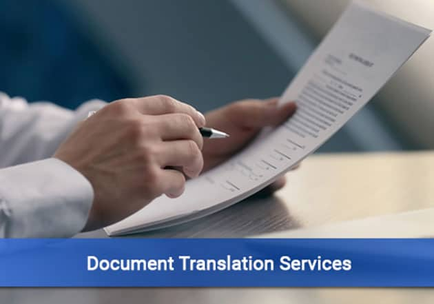 Document Translation Services In India