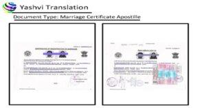Marriage Certificate Apostille in Gurgaon